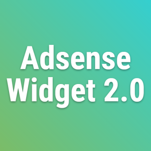 Wordpress Adsense Widget 2.0 Updates