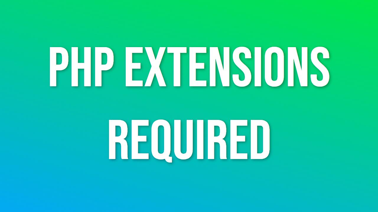 php-extensions-required